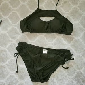 Mossimo Supply Co. Swim - NWOT Green Swimsuit Top